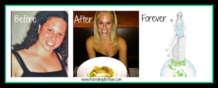 Travelling Dietitian beforeafter