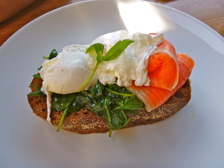 Healthy meal on rye bread; Not gluten free, but still can be included as part of a healthy and enjoyable diet!