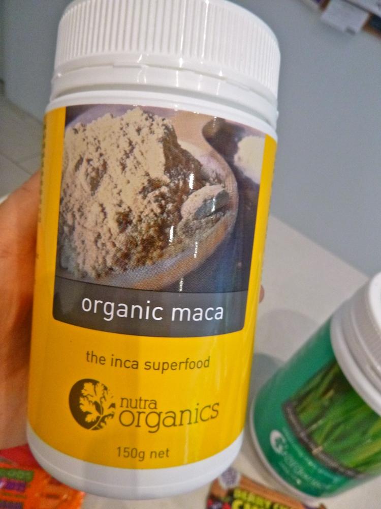 nutra organics- organic maca