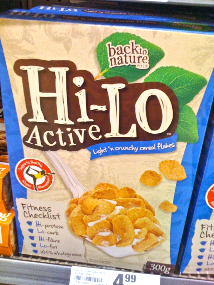 A high protein cereal available in the health food isle of some supermarkets.