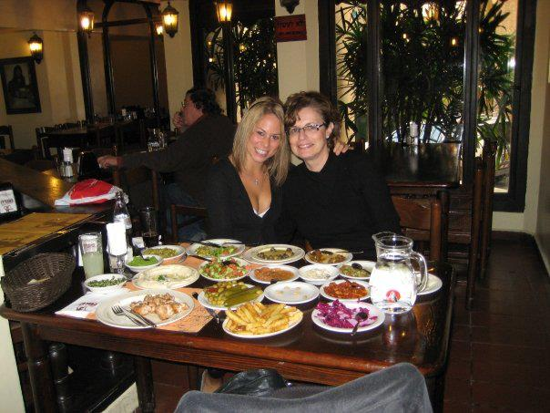 Delicious and healthy middle eastern food in Israel.