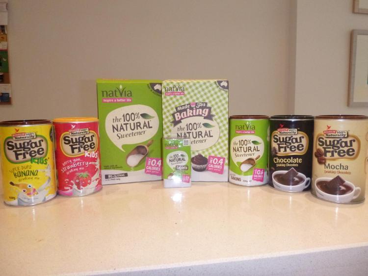 Stevia/erythritol mixes