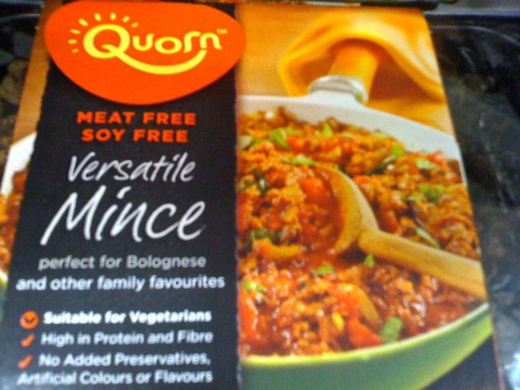 Quorn- super filling, high protein, high fibre, rich in omega 3's..and a plant based protein source.