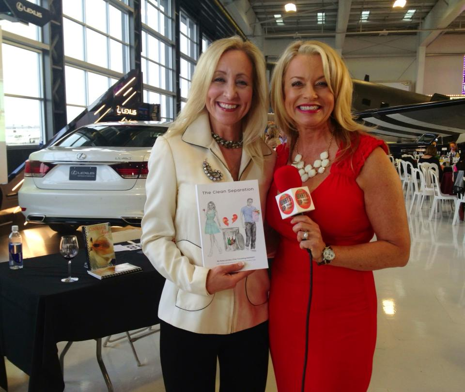 The Bikini Chef, Susan Irby spreading the news about The Clean Separation!
