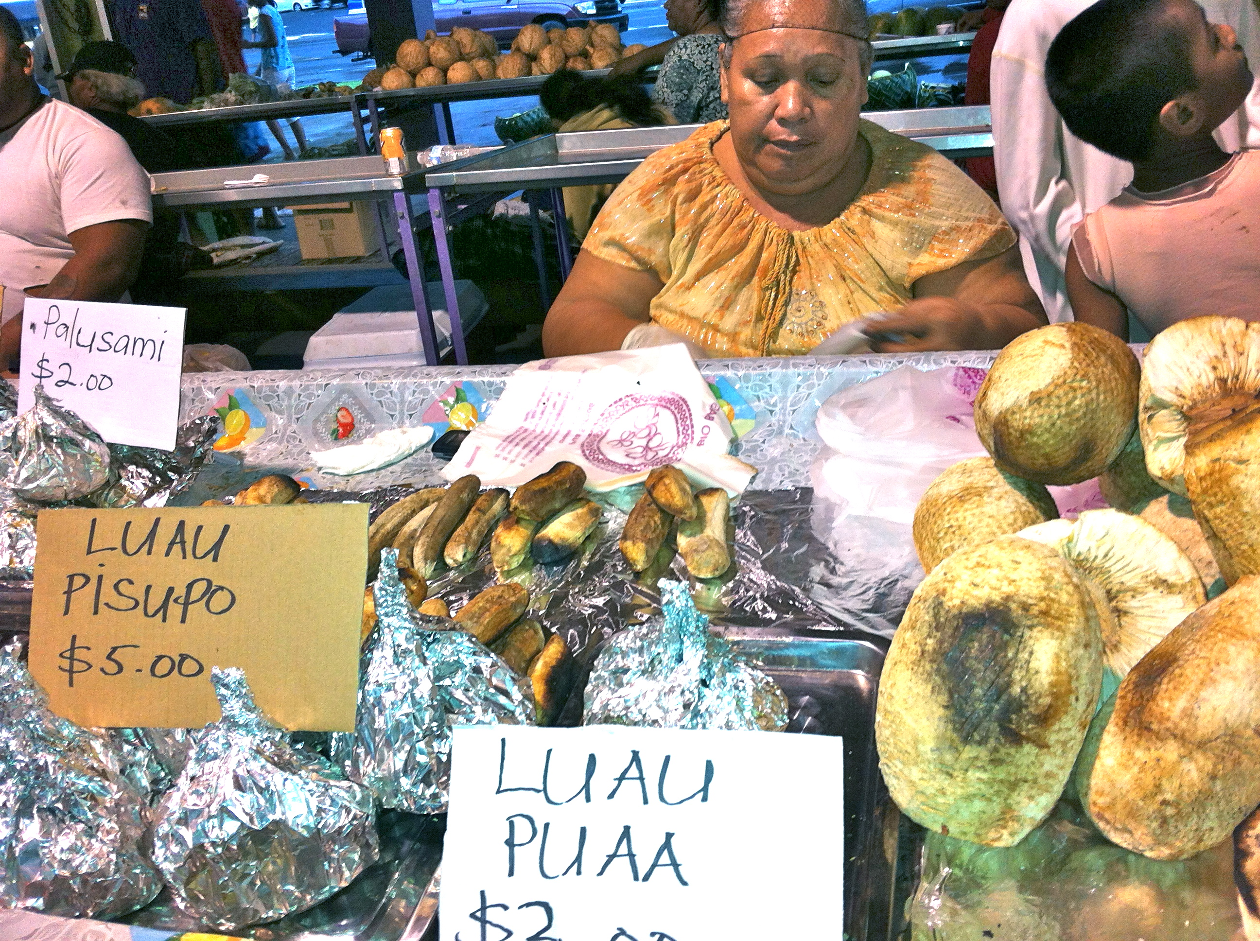 More food being sold at the market