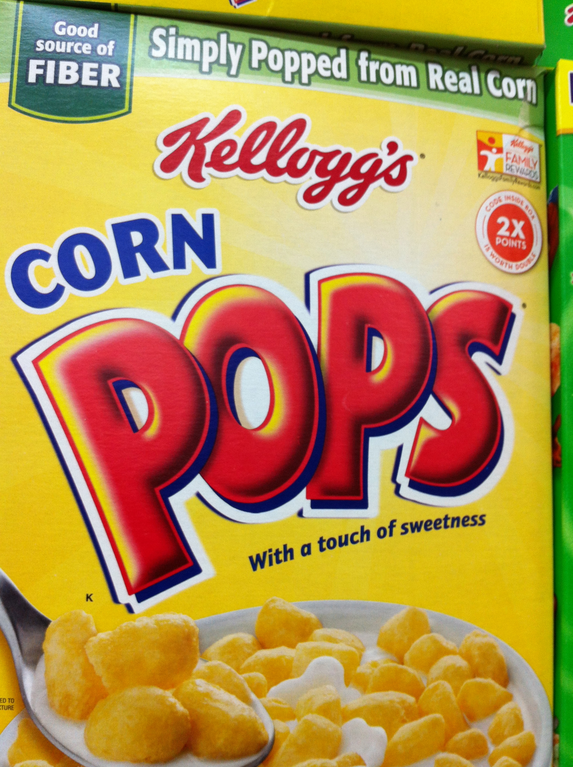 Fortified cereals with nutrient claims