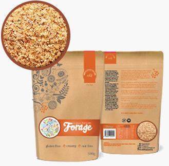 Forage porridge is high in iron