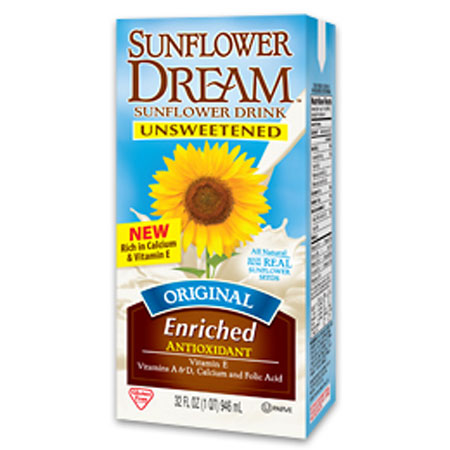 sunflower dream unsweetened dairy free drink