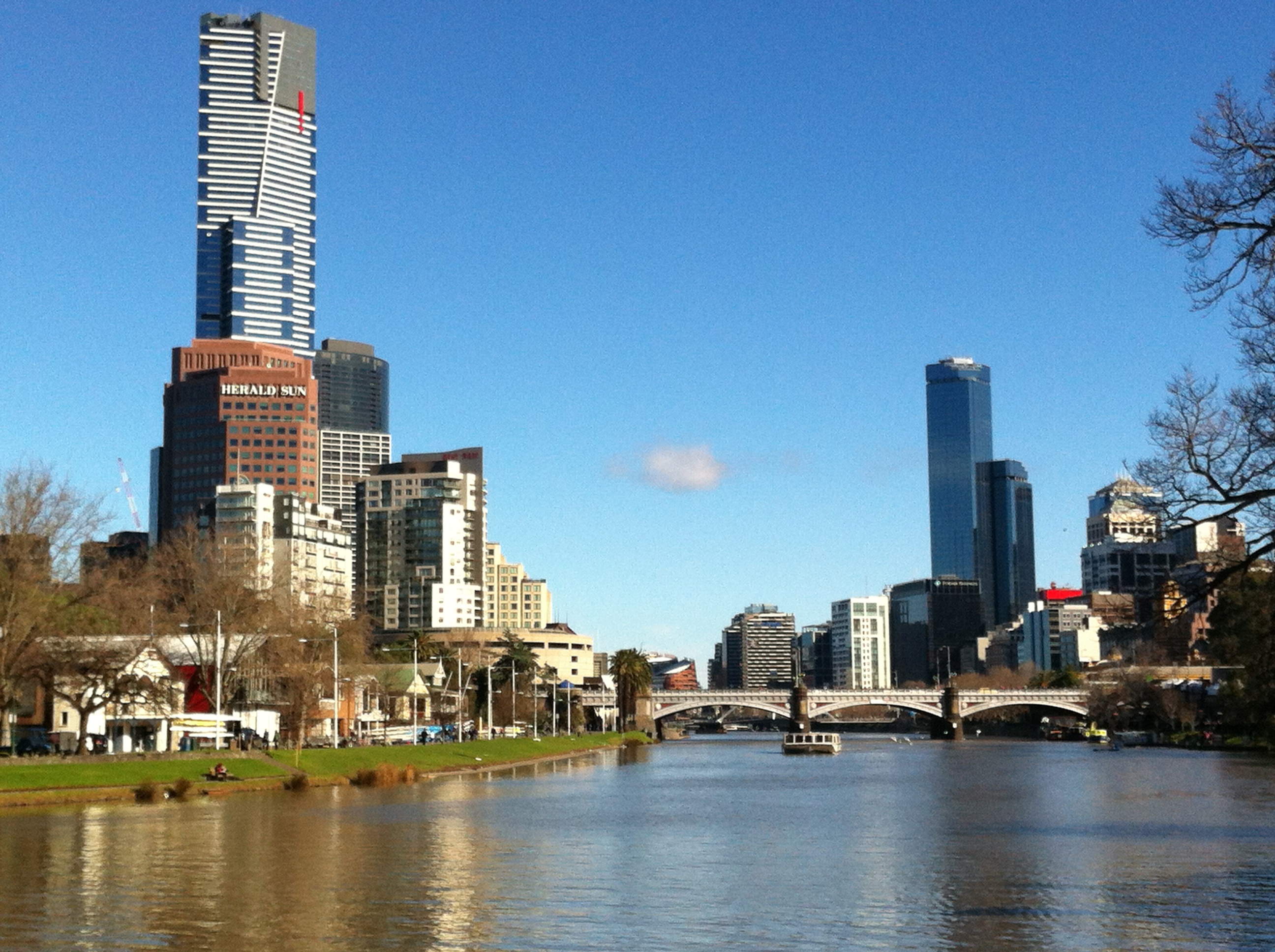 Beautiful Melbourne on a Sunday morning