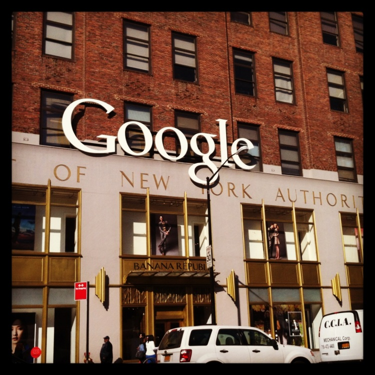 Sometimes you have to just give it a go..like ask if you can come to google for lunch..and then actually get to go to google for lunch!