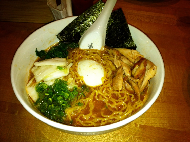 Dining out at momofuku