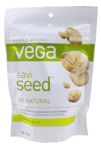 One example of sacha inch seeds being sold by the brand Vega