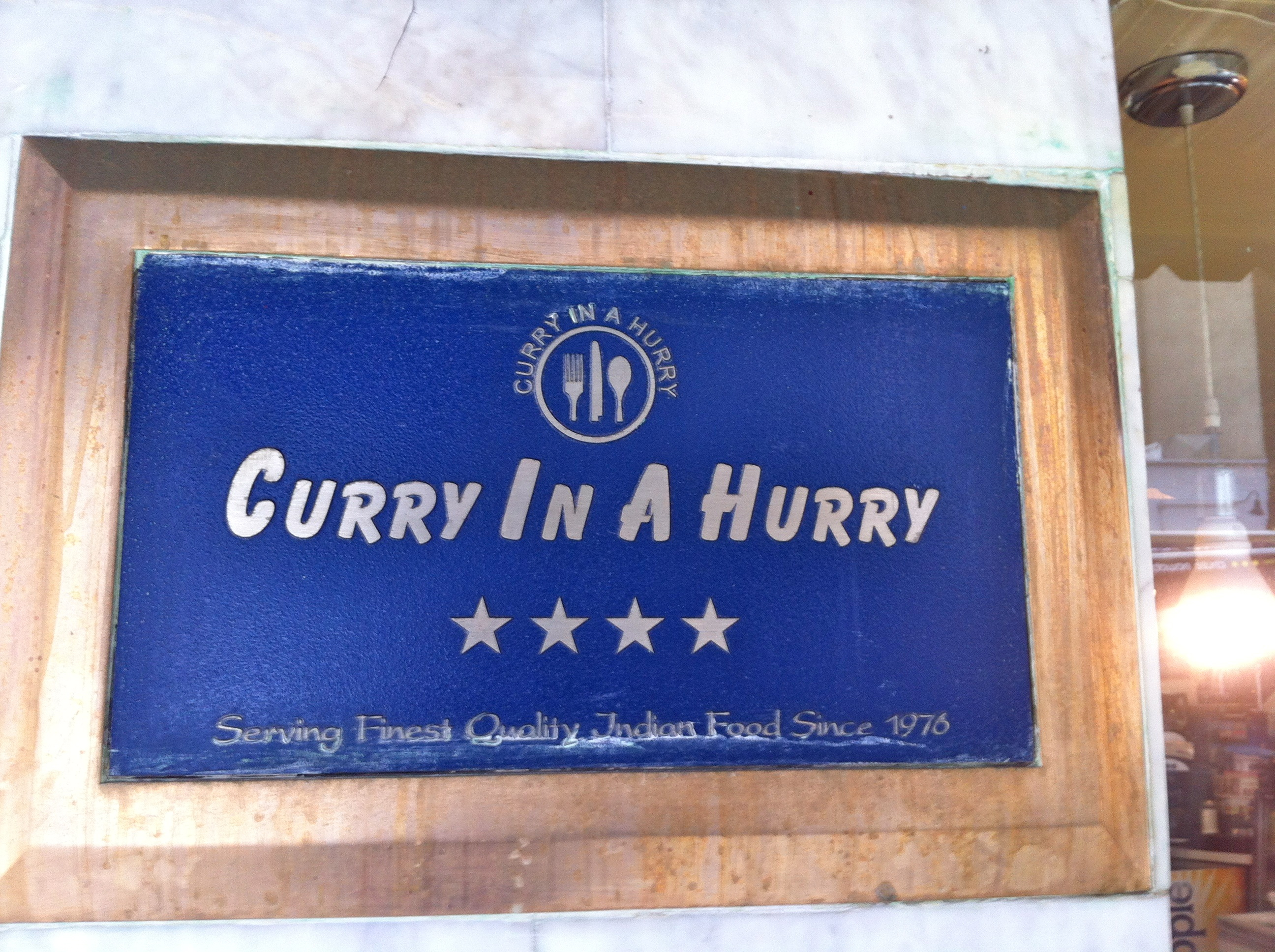 Curry in a Hurry NYC Kips Bay Indian Food