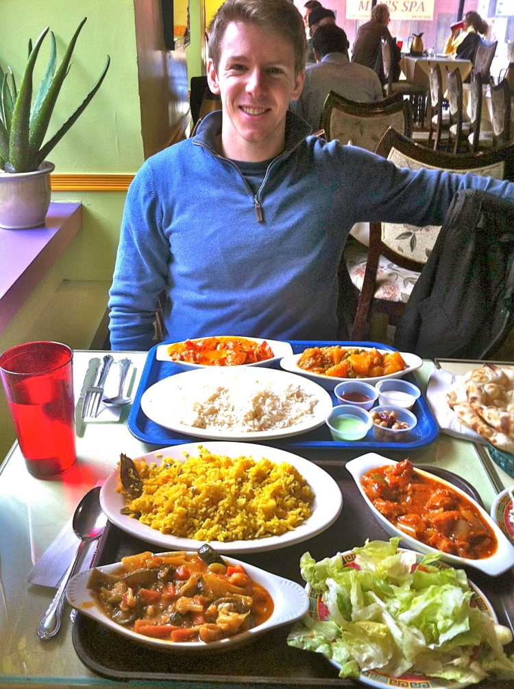 Travelling Dietitian researching healthy food in NYC - Indian Food in NYC