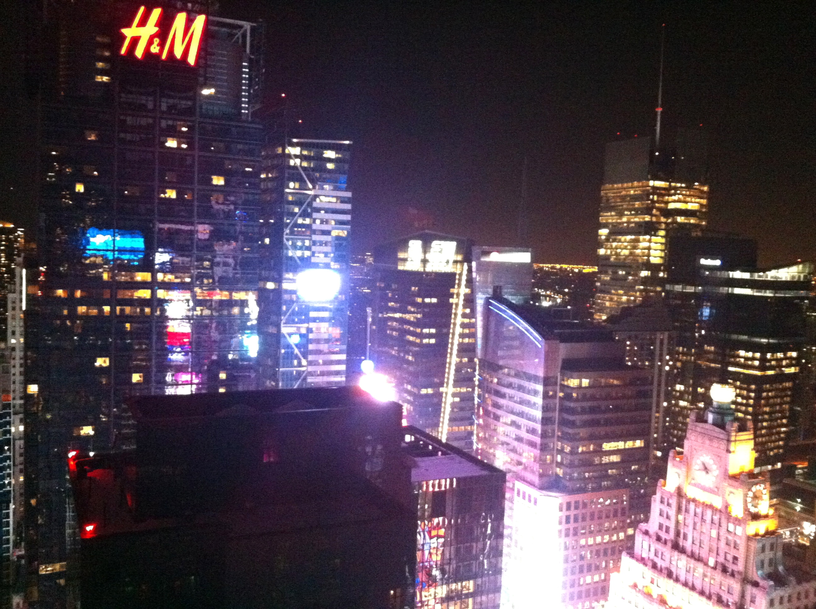 NYC rooftop bar with a city view on Valentines day…still WOW!