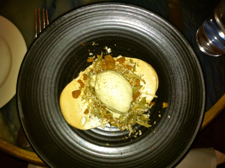 Syracuse Melbourne appetiser of cauliflower mousse..wow!