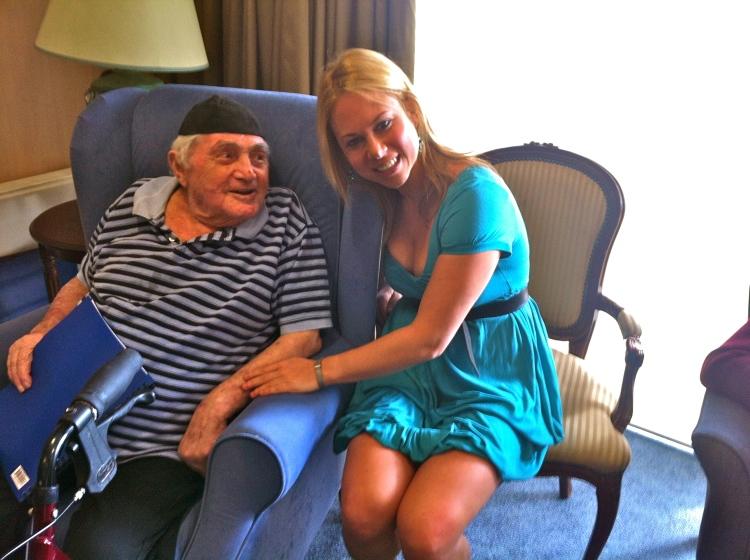 Celebrating my grandfathers 92nd birthday!