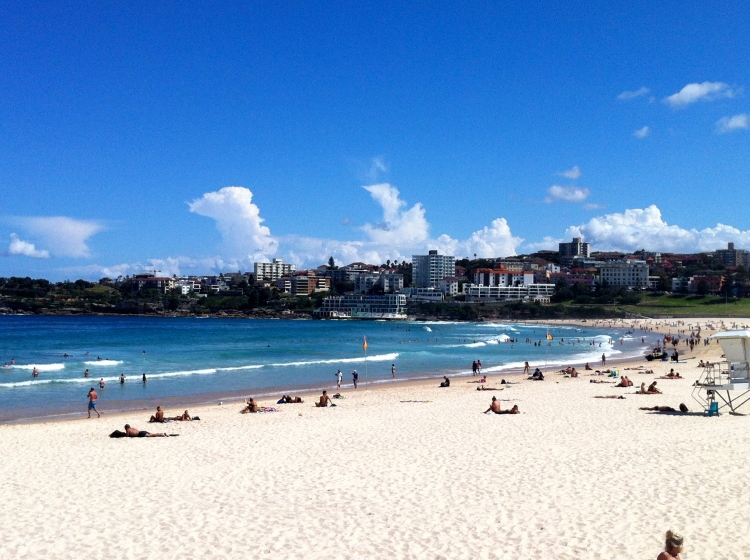 Sydney Bondi Beach putting on the goods as per usual!