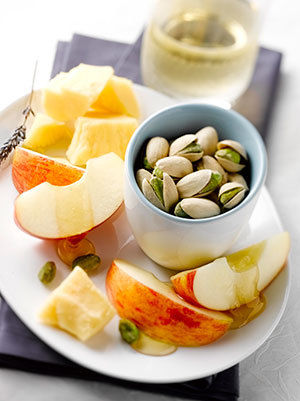 Wonderful pistachio pairing healthy snack