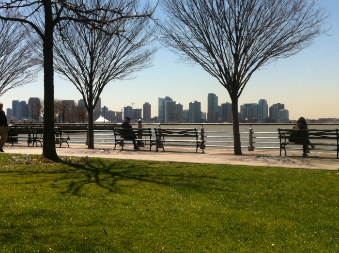 My new perching spot on the hudson river to work from. Beautiful.