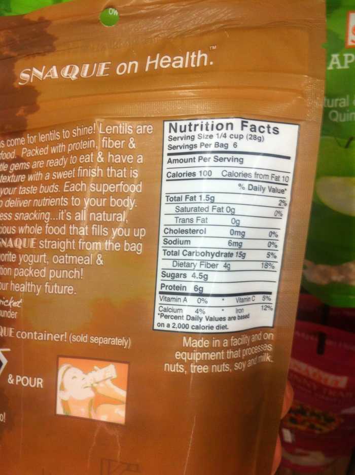 Snaque healthy products