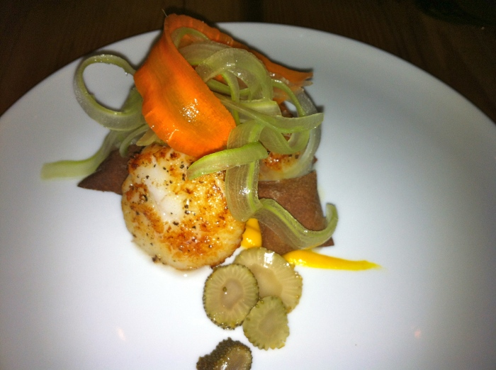 Exploring new cuisines in NYC - Amazing healthy Danish dinner at Copenhagen restaurant in Tribeca. Menu was incredible!