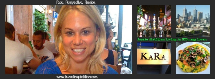 Kara Landau travelling dietitian
