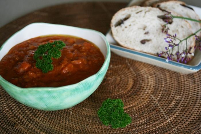 lentil chickpea quinoa soup