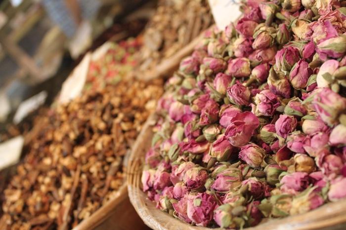 spice market tea in israel