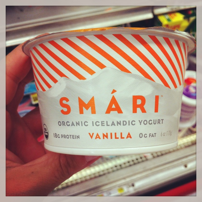 Smari - another brand of icelandic skyr available in the USA