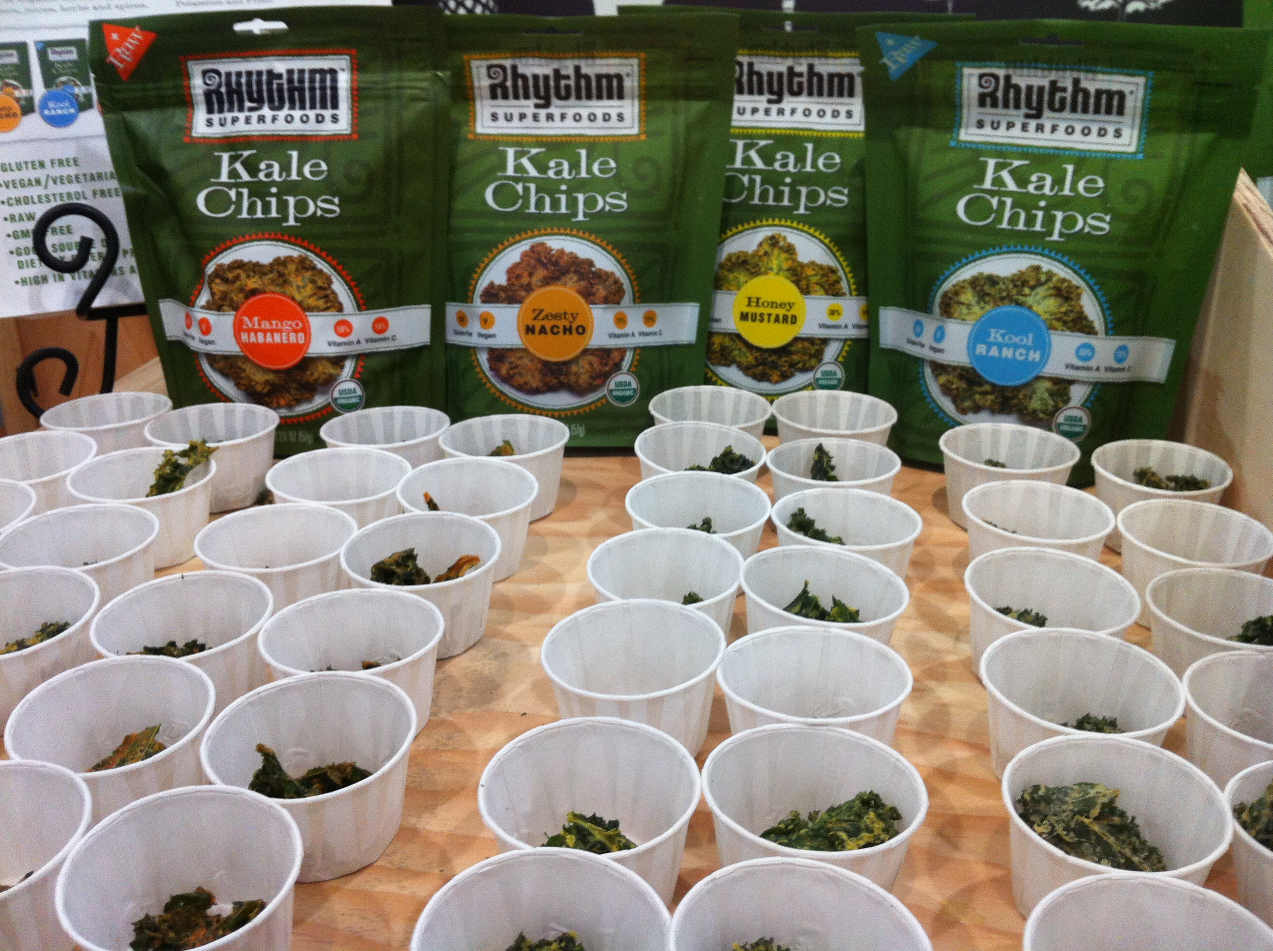 Delicious kale chips from a great company - rhythm super foods