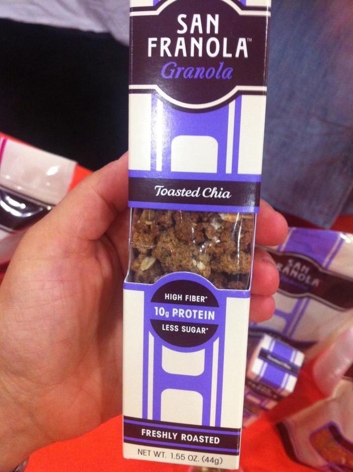 high protein and fibre granola - san franola