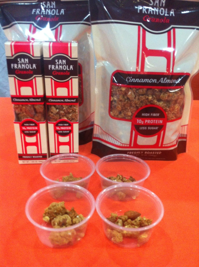 high protein and fibre granola - san franola