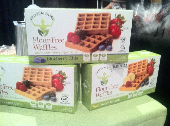 gluten free waffles that are made from high protein legume based flours