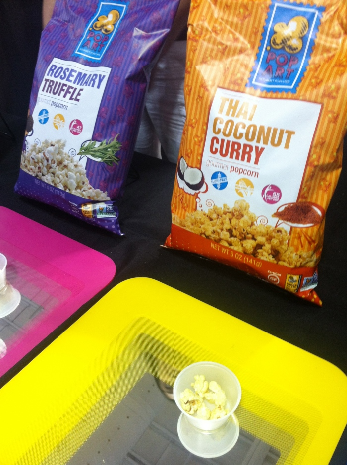 new popcorn flavours at the fancy food show summer nyc