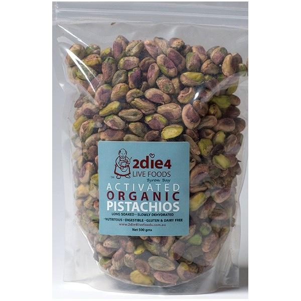 activated pistachios